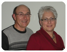 Simplistic Living Owners, Bev and Vern